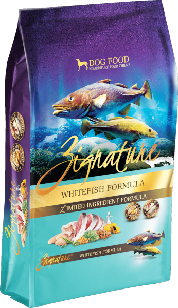 Zignature Limited Ingredient Whitefish Formula Dog Food