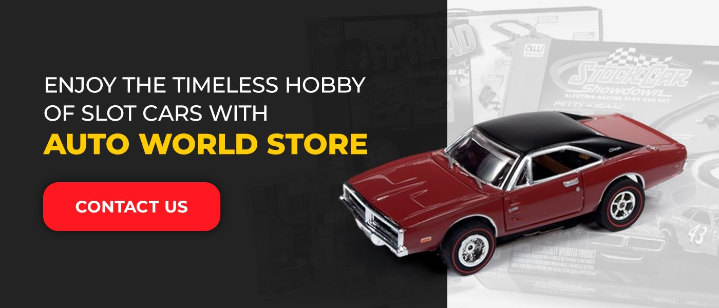 Enjoy the Timeless Hobby of Slot Cars With Auto World Store