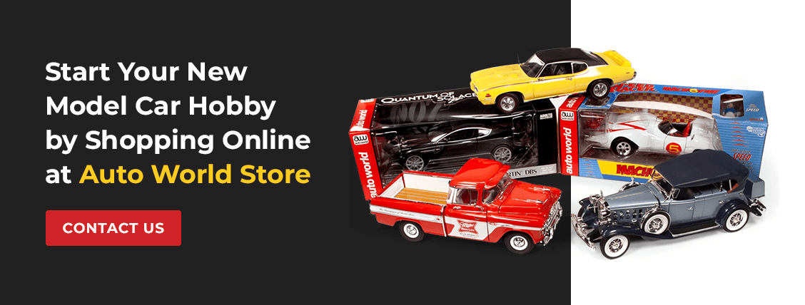 Start Your New Model Car Hobby by Shopping Online at Auto World Store