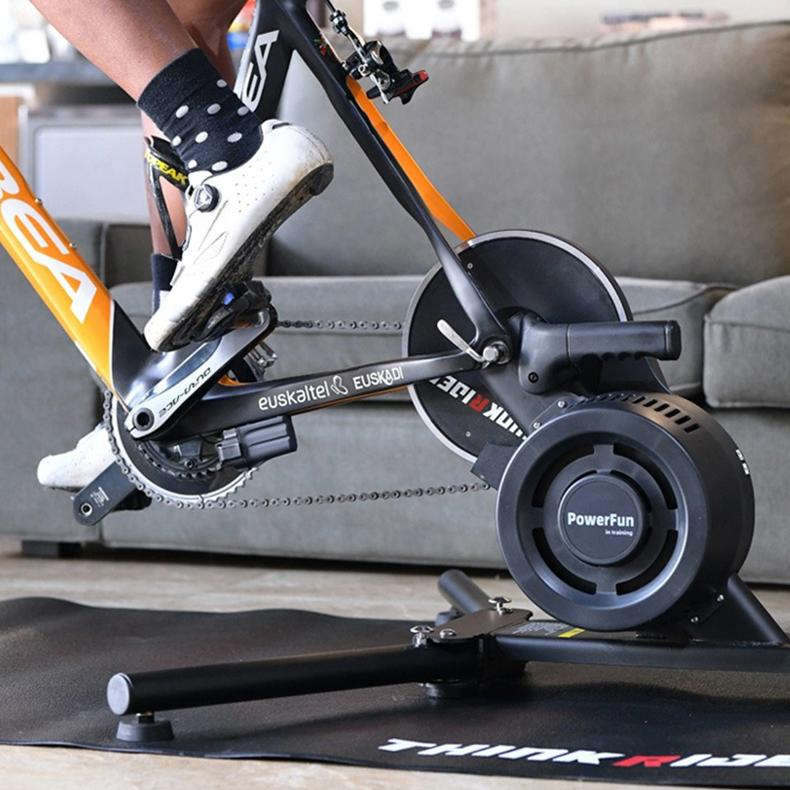 Thinkrider X7 Smart Bicycle Trainer - Montreal Weights