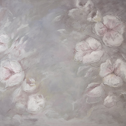 Rentals - Dreamy Floral - Printed Baby Backdrops - 5 by 4 Feet