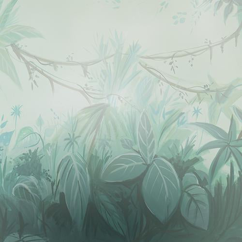 Rentals - Hazy Forest - Printed Baby Backdrops - 5 by 4 feet