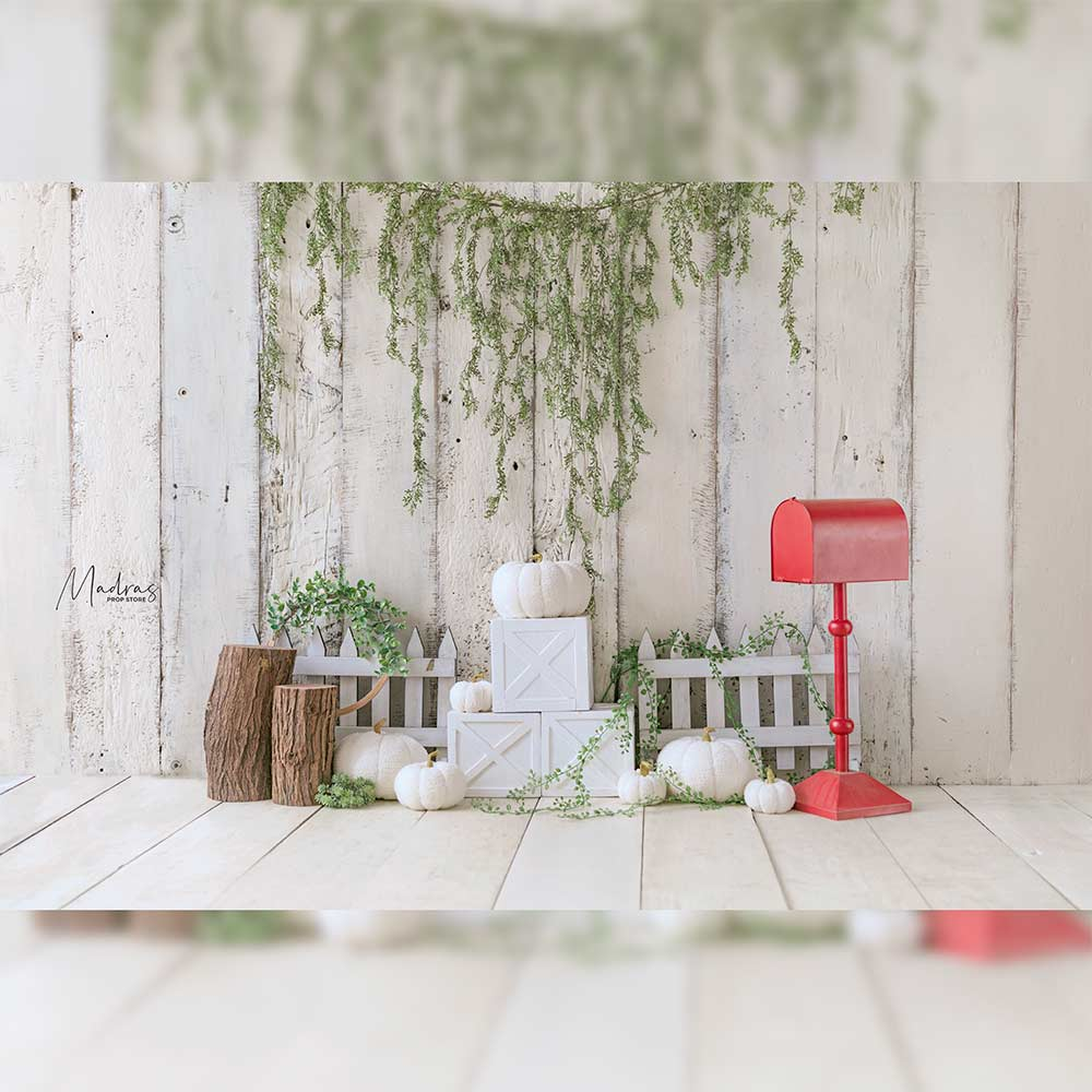 Rentals - Into the Farm - Printed Baby Backdrops - 5 by 6 feet
