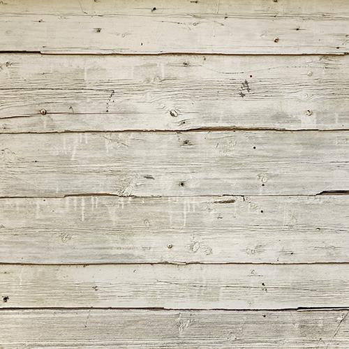 Rentals - Rustic Cream Wooden Floor - Printed Baby Backdrops - 5 by 6 feet