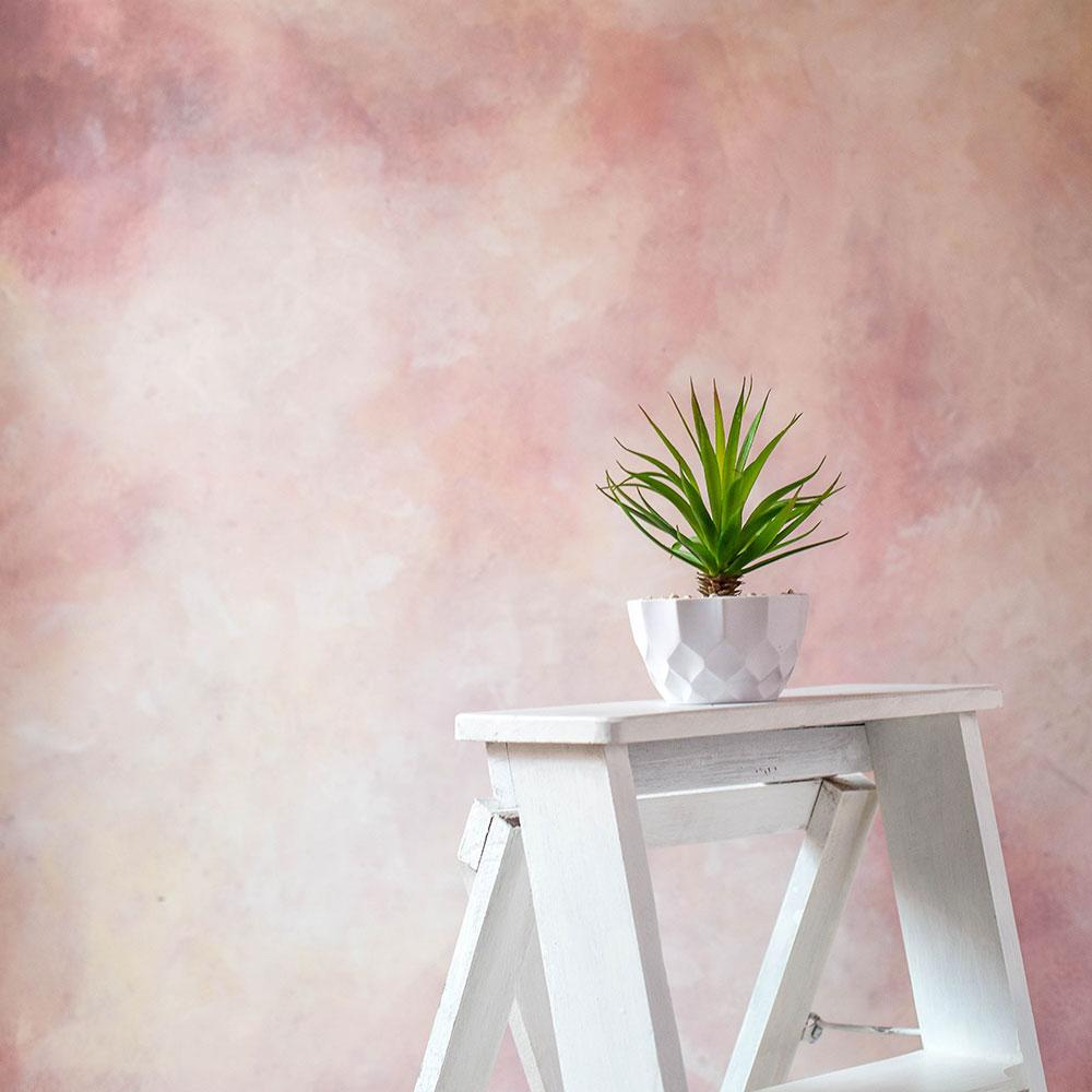 Rentals - 24 Hours Rental Hand Painted - Strawberry Canvas - Painted Baby Backdrops - 5 by 6 Feet