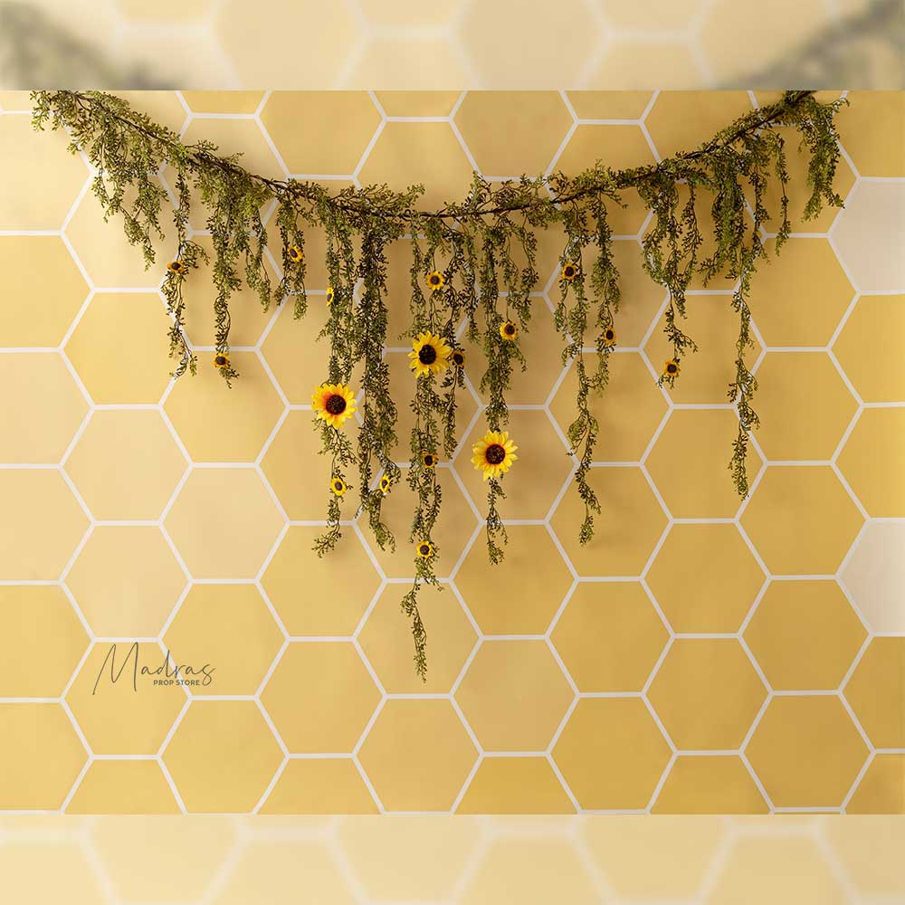Rentals - Beekeeper - Printed Baby Backdrops - 5 by 6 feet