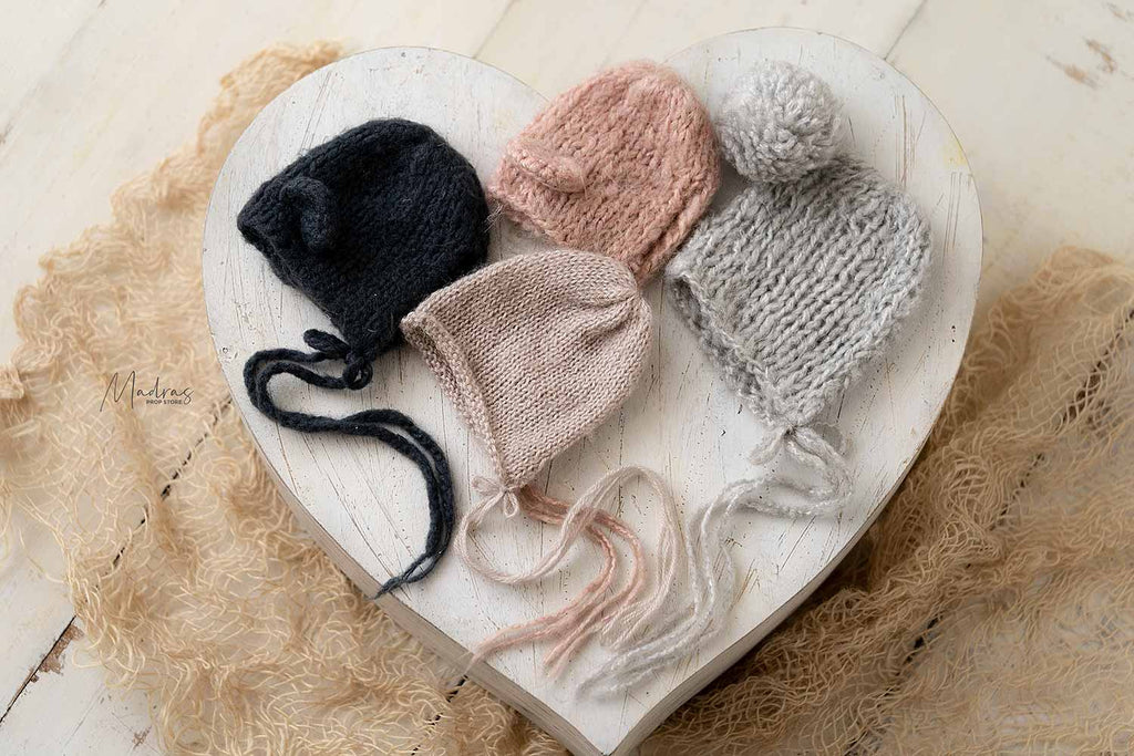 Rentals - Woolen Newborn to 6 M Hat