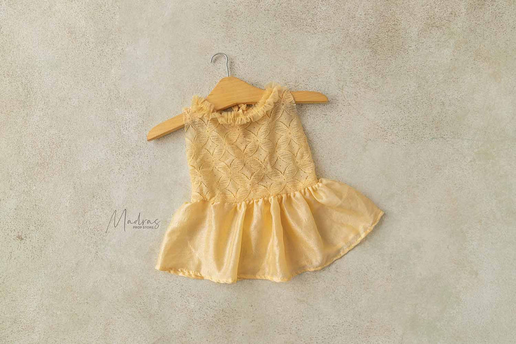Rentals - Daffodil Gown 0 to 3 Months