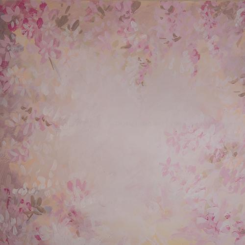 Rentals - Orchid Garden - Printed Baby Backdrops - 5 by 6 feet
