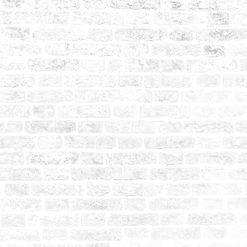 Rentals - White 'n' Grey Brick Wall - Printed Baby  - 5 by 6 feet