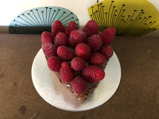 Fresh Raspberry Chocolate Cake