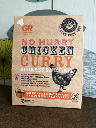 No Hurry Chicken Curry