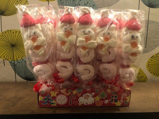 Santa Marshmellow Lollies