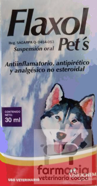Flaxol Pet's suspensión oral