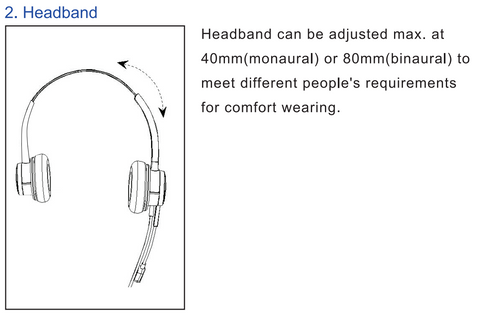 Noise canceling headphone-2