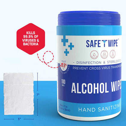 Multi-Purpose Alcohol Wet Wipes 10 Containers
