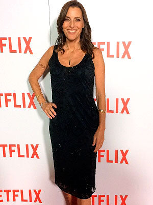 Actress and director Cecilia Peck with her Brian de Staic Aglish Pendant.