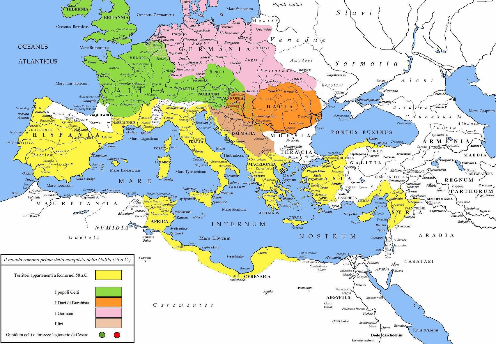 celts romans map gauls italia history caesar vercingetorix