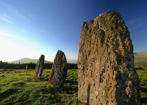 Standing Stones at the Ardmore, Dingle Peninsula