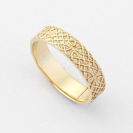 Cashel Ring Narrow - Brian de Staic Celtic/Irish Jewelry