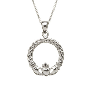 Medium Claddagh Pendant