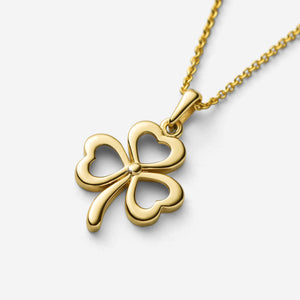 Cut-Out Shamrock Pendant