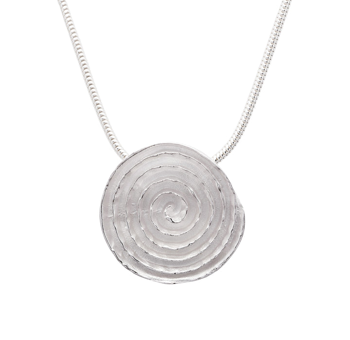 Domed Spiral Slider Pendant