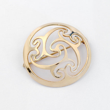 Cashel Brooch Small - Brian de Staic Celtic/Irish Jewelry