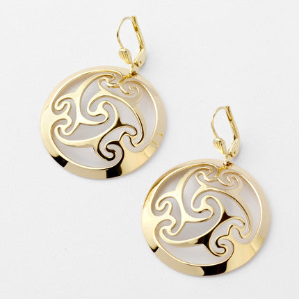 Cashel Earrings - Brian de Staic Celtic/Irish Jewelry
