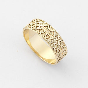 Cashel Ring Wide - Brian de Staic Celtic/Irish Jewelry
