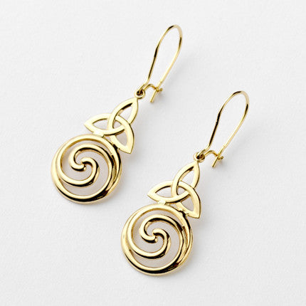 Clonfert Earrings - Brian de Staic Celtic/Irish Jewelry