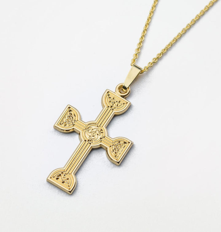 Clonmacnoise Beag Cross - Brian de Staic Celtic/Irish Jewelry