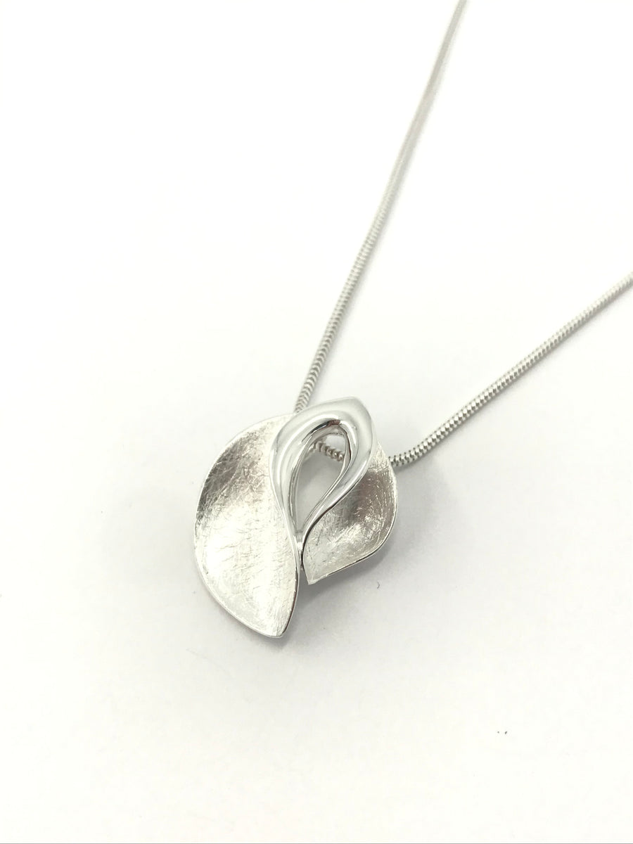 Brushed Petals Pendant