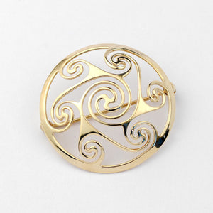 Lir Brooch - Brian de Staic Celtic/Irish Jewelry
