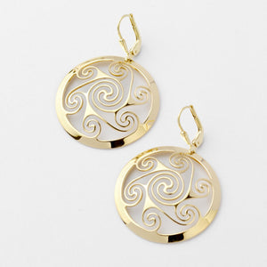 Lir Earrings - Brian de Staic Celtic/Irish Jewelry