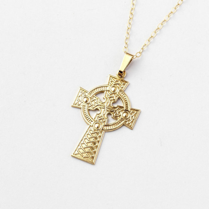 Celtic Cross 1 - Brian de Staic Celtic/Irish Jewelry