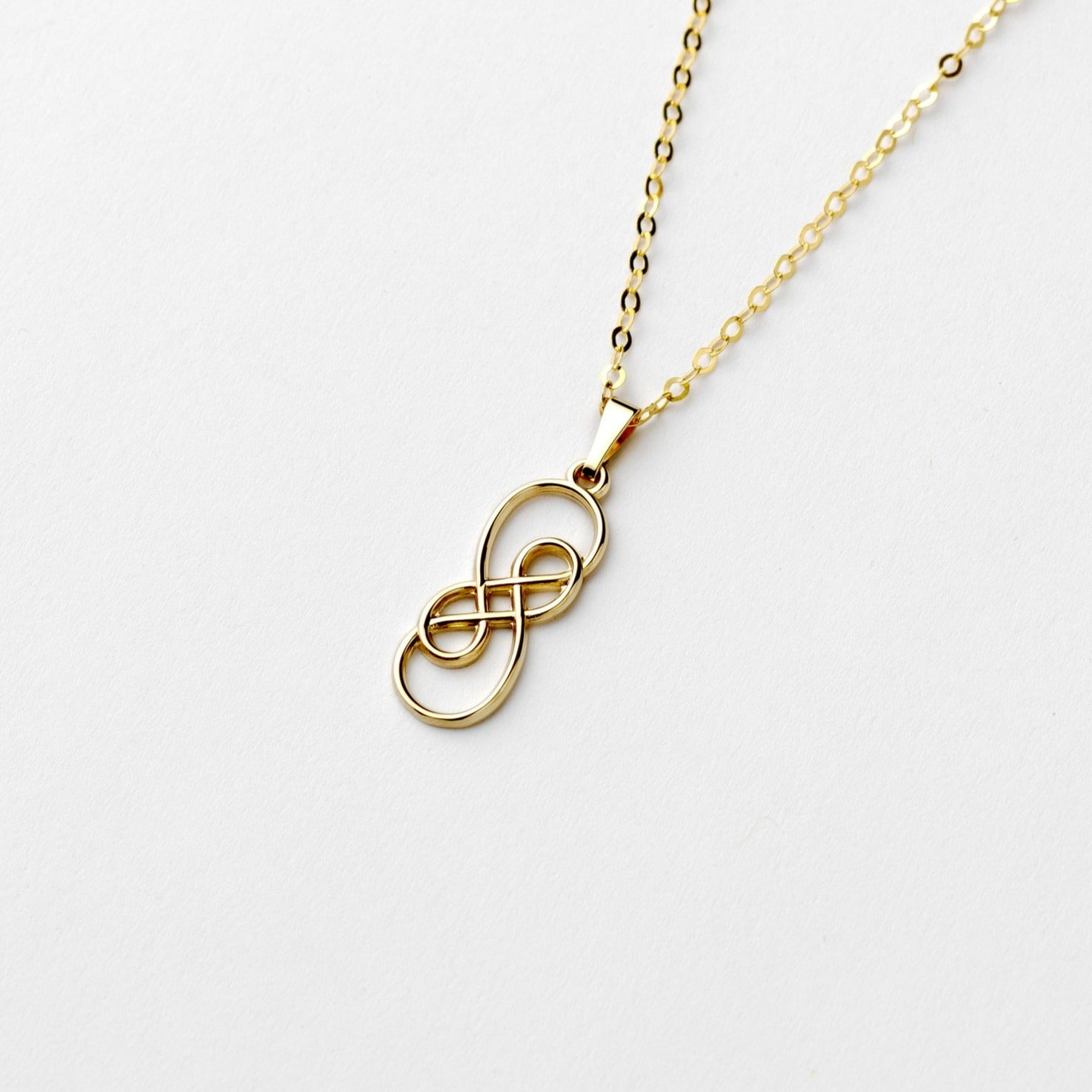 gold twist necklace co pendant tiffany yellow knot