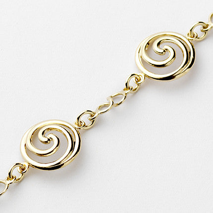 Spiral Bracelet - Brian de Staic Celtic/Irish Jewelry