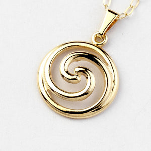 Spiral Pendant - Brian de Staic Celtic/Irish Jewelry