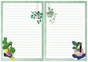 Crazy Plant Lady Notepad - Zoi-Zoi