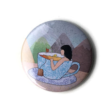 Load image into Gallery viewer, Tea-riffic Pocket Mirror - Zoi-Zoi