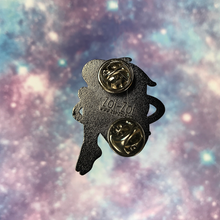 Load image into Gallery viewer, Space Girl - Midnight Sky Pin - Zoi-Zoi