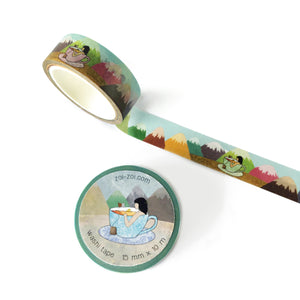 Tea-riffic Washi Tape - Zoi-Zoi