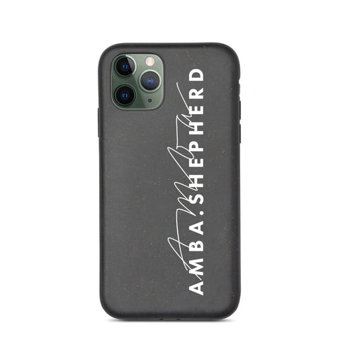 Amba Shepherd iPhone Case Biodegradable