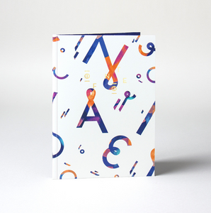 Cuaderno A5 Happy Letters