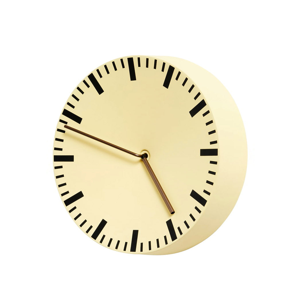 Reloj pared amarillo