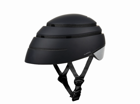 Casco plegable de bicicleta Loop graphite/reflective L