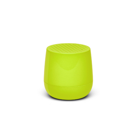 Mini-altavoz Mino amarillo brillo