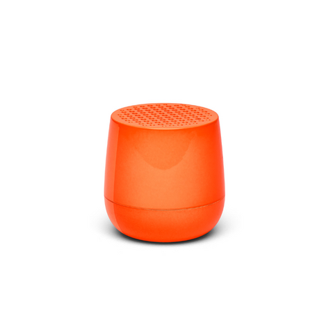 Mini-altavoz Mino naranja brillo