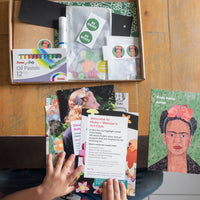 The Collage Box - Inspired by Frida Kahlo